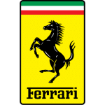 Ferrari logo car battery