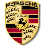 Porsche car batteries logo