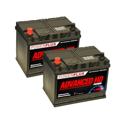 069 car battery pair image