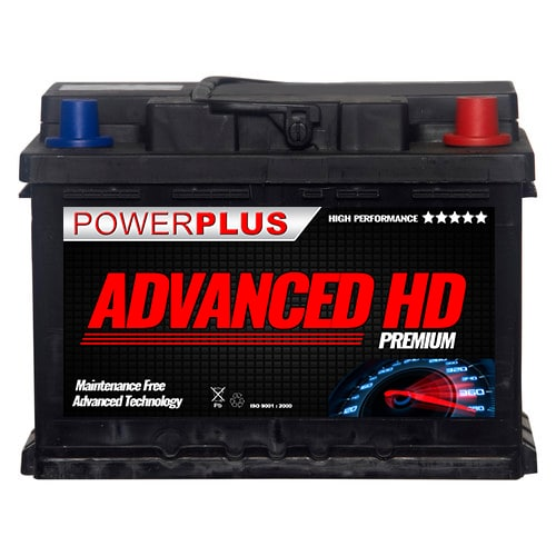 075 HD car battery