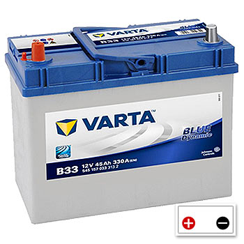 Varta B33 Car Battery