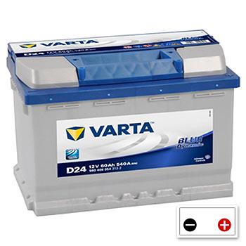 Varta D24 Car Battery