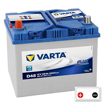 Varta D48 Car Battery