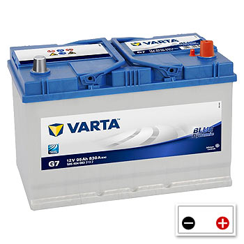 Varta G7 Car Battery