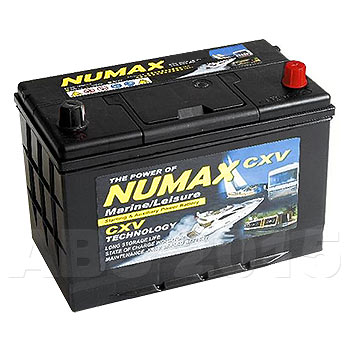 Numax 12V Low Profile 105Ah Deep Cycle Battery