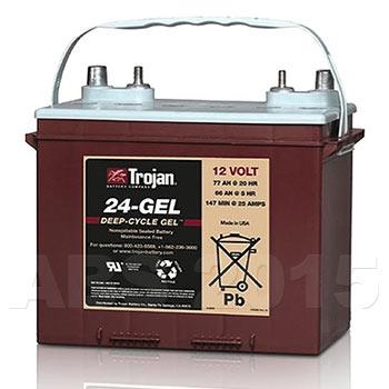 Trojan 12 Volt 24GEL DT Battery