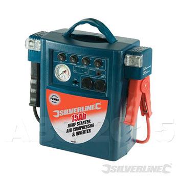 12V Battery Power Inverter and Jump Starter