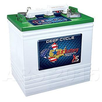 U.S.125XC2 6 Volt Battery