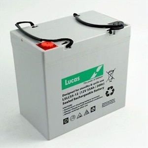 Lucas 55ah battery