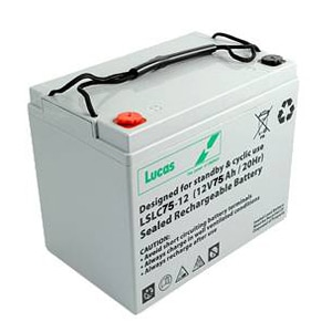Lucas 75ah LSLC battery