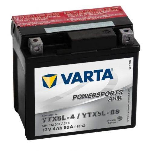 varta ytx5lbs battery