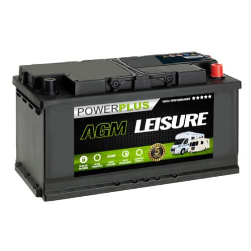 Agm LP120 120ah leisure battery image