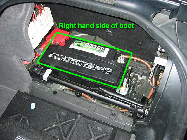 Bmw 5 Series Car Battery Location Abs Batteries