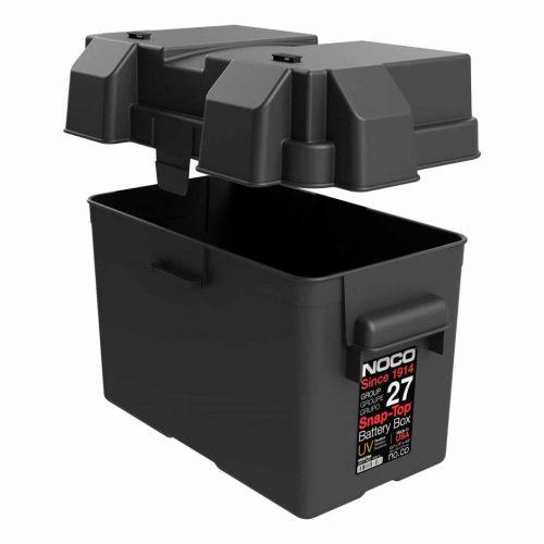 Battery Box 27 Open