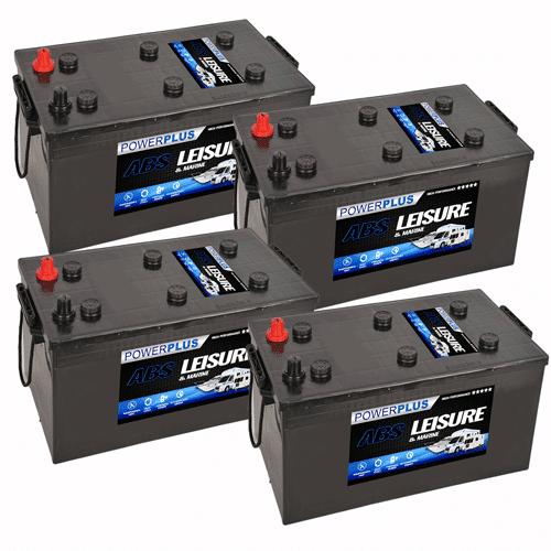 4 x L230 Batteries