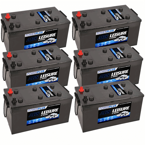 6 x L230 Batteries