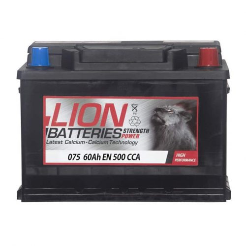 lion 075 car battery