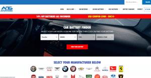 car battery finder screenshot