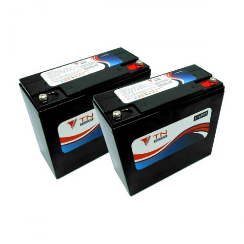 2x tn power 12v24ah batteries